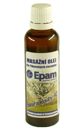 Epam, Epam massage oil 40 mixture 50 ml