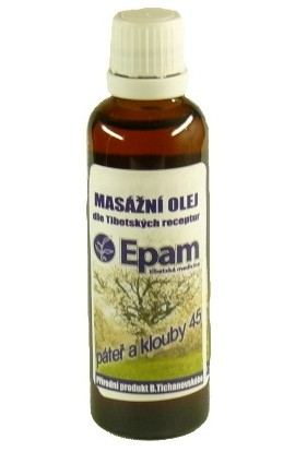 Epam, Epam massage oil 45 mixture 50 ml