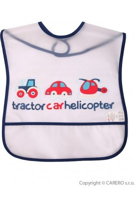 Akuku Children's bib with transport pocket
