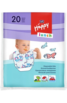 Bella baby Happy Lunch Disposable with a catch bowl, 20 pcs