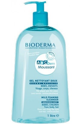 Bioderma ABCDerm Moussant cleansing foaming gel 1000 ml