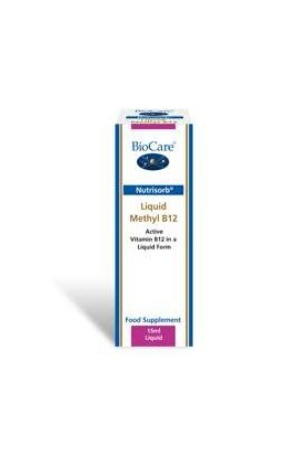 Biocare Nutrisorb© Methyl B12 (500mcg) 15ml Flasche (vegan)