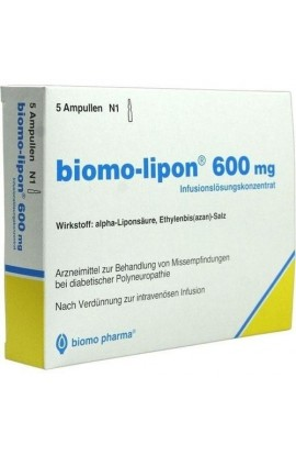 Biomo, Lipon 600 Mg Amp., Липон 600 мг Ампулы 20 шт.