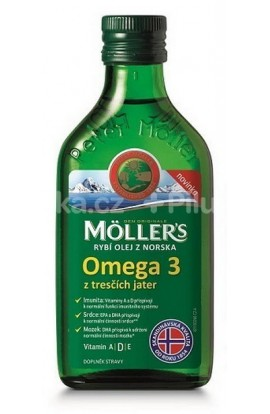 Möller's fish oil Omega 3 cod liver oil 250 ml