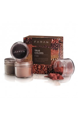 FARAN, SET MINERAL DECORATIVE COLORS, TRUE COLORS FIRE, 13,5 ML