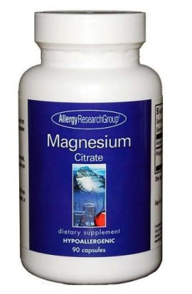 Allergy Research Magnesium Citrate 170 90 veg. Kapseln