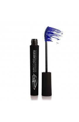PUROBIO COSMETICS, MASCARA LENGTHENING 02 BLUE, 6 ml