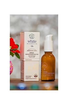 White Mandarin Cream-microemulsion for eye and lip contour 30 ml