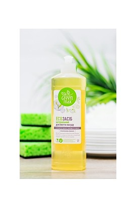 White Mandarin Eco-Dishwashing Liquid Green Max 500 ml
