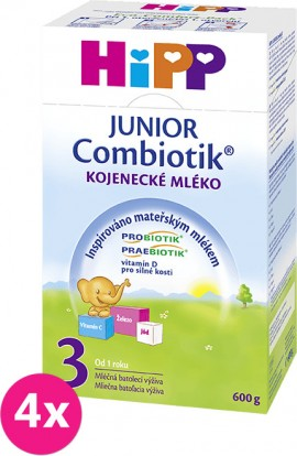 Hipp 3 Junior Combiotik 4x600 g
