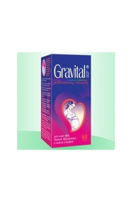 60 tbl., Multivitamins for pregnant and lactating women Gravital®