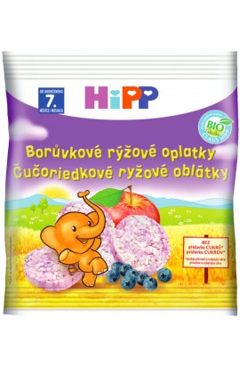 HiPP BIO rice blueberry wafer 35g