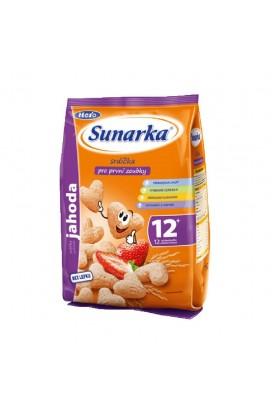 Hero SUNÁREK Children's snack strawberry heart 50 g