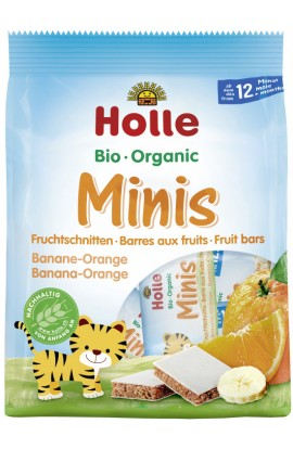HOLLE BIO Minis banana with orange 100g