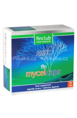 Finclub,  Fin Mycelcaps 80 cps.
