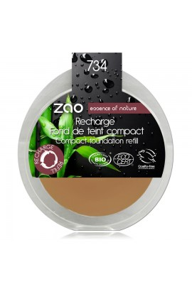 ZAO, COMPACT MAKE-UP 734 CAPUCCINO, 6 G