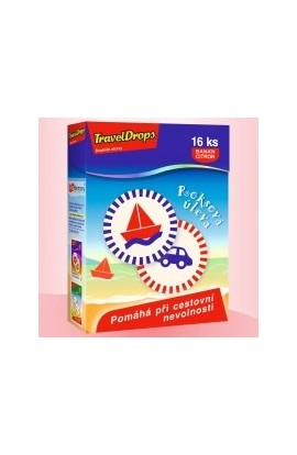 copy of TravelDrops, banana, lemon - 16 pcs