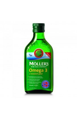MÖLLER´S, fish oil Omega 3 from cod liver, 250 ml
