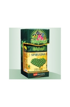 Spirulina 500 mg - 90 tbl., 100% organic RainForest® product