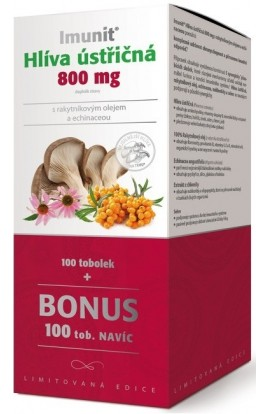 Simply You, Immunity Oyster mushroom 800mg with turmeric oil and Echinacea 200 tbl.