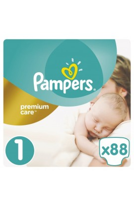 Pampers Premium Care 1 Newborn 88 ks 2-5 kg