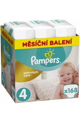 Pampers Premium Monthly Box Box S4 168ks