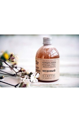 "Krasnopolyanskaya cosmetics SHAMPOO ""HONEY"" 250ml"