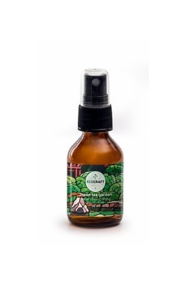 "Ecocraft Serum-Mist for the face with lifting effect ""Japanese tea garden"" 30 ml"