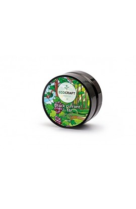 """Ecocraft Natural scrub for dry and sensitive skin """"Black currant and resin"""" 60 ml"""