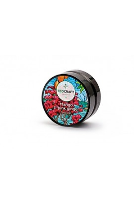 """Ecocraft Natural scrub for normal skin """"Mango and pink ginger"""" 60 ml"""