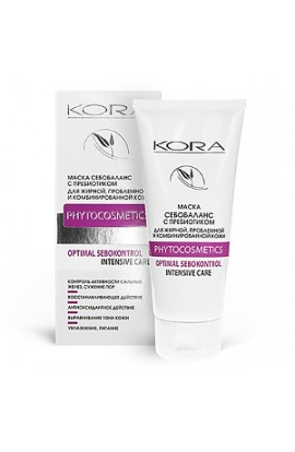 Kora Mask sebobalans with prebiotics for oily, problematic and combination skin 100 ml