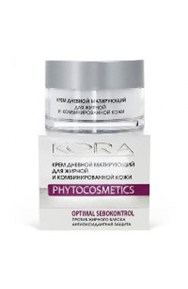 Kora Day cream matting for oily and combination skin 50 ml