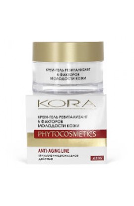 Kora Cream-gel revitalizant 5 skin youth factors 50 ml