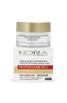 Kora Cream to restore the elasticity of the skin of the face and neck 30 ml