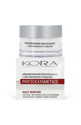 Kora Evening Nourishing Cream with Vitamins and Honey 50 ml