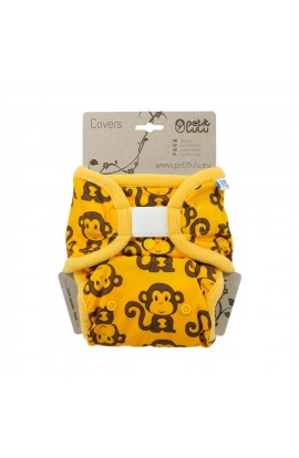 PETIT LULU, OUTERWEAR PANTIES (yellow monkeys), 1 PCS