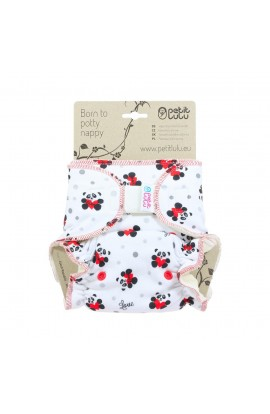 PETIT LULU, LADYPANTS DIAPER (red panda), 1 PCS