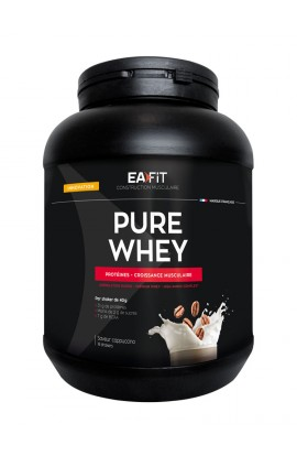 Eafit muscle building Pure whey 750 g, cappuccino