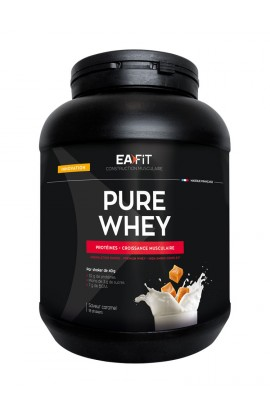 Eafit muscle building Pure whey 750 g, caramel