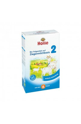 Holle organic goat milk follow-on milk 2 powders (400 g)