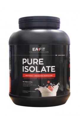 Eafit Pure Isolate 750 g, Red fruits