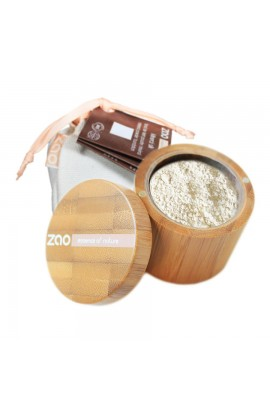 ZAO, SILK MINERAL MAKEUP 500 MATTIFYING INVISIBLE, 15 G