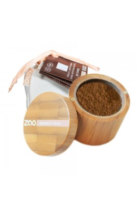 ZAO, SILK MINERAL MAKEUP 506 BROWN BEIGE, 15 G