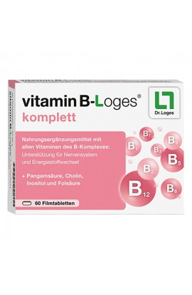 Vitamin B-loges complete film-coated tablets (60 pcs)