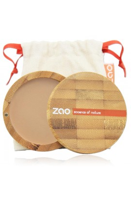 ZAO, COMPACT POWDER 302 BEIGE ORANGE, 9 G