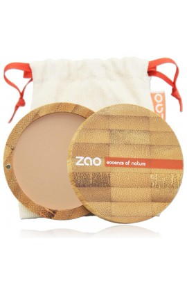 ZAO, COMPACT POWDER 303 BROWN BEIGE, 9 G