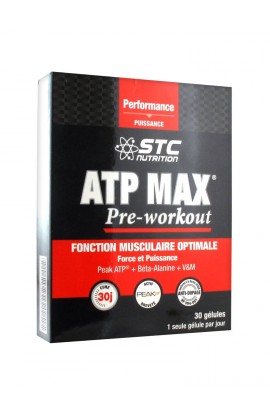 STC Nutrition ATP Max Pre-Workout 30 capsules