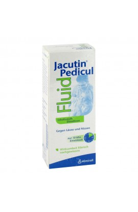 Jacutin Pedicul Fluid mit Nissenkamm (200 ml)