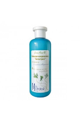 "Green Mama BALSAM-CONDITIONER FOR HAIR ""ANTISTRESS"" FROM DRINKING WITH MARINE ALGAE 400ml"