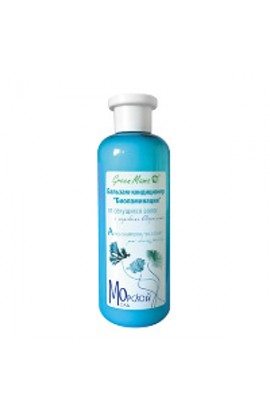 "Green Mama BALSAM-CONDITIONER FOR HAIR ""BIOLAMINATION"" FROM HAIRED HAIR WITH SEA ALGAE"